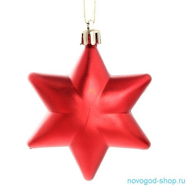 Игрушки  на елку звезда 185