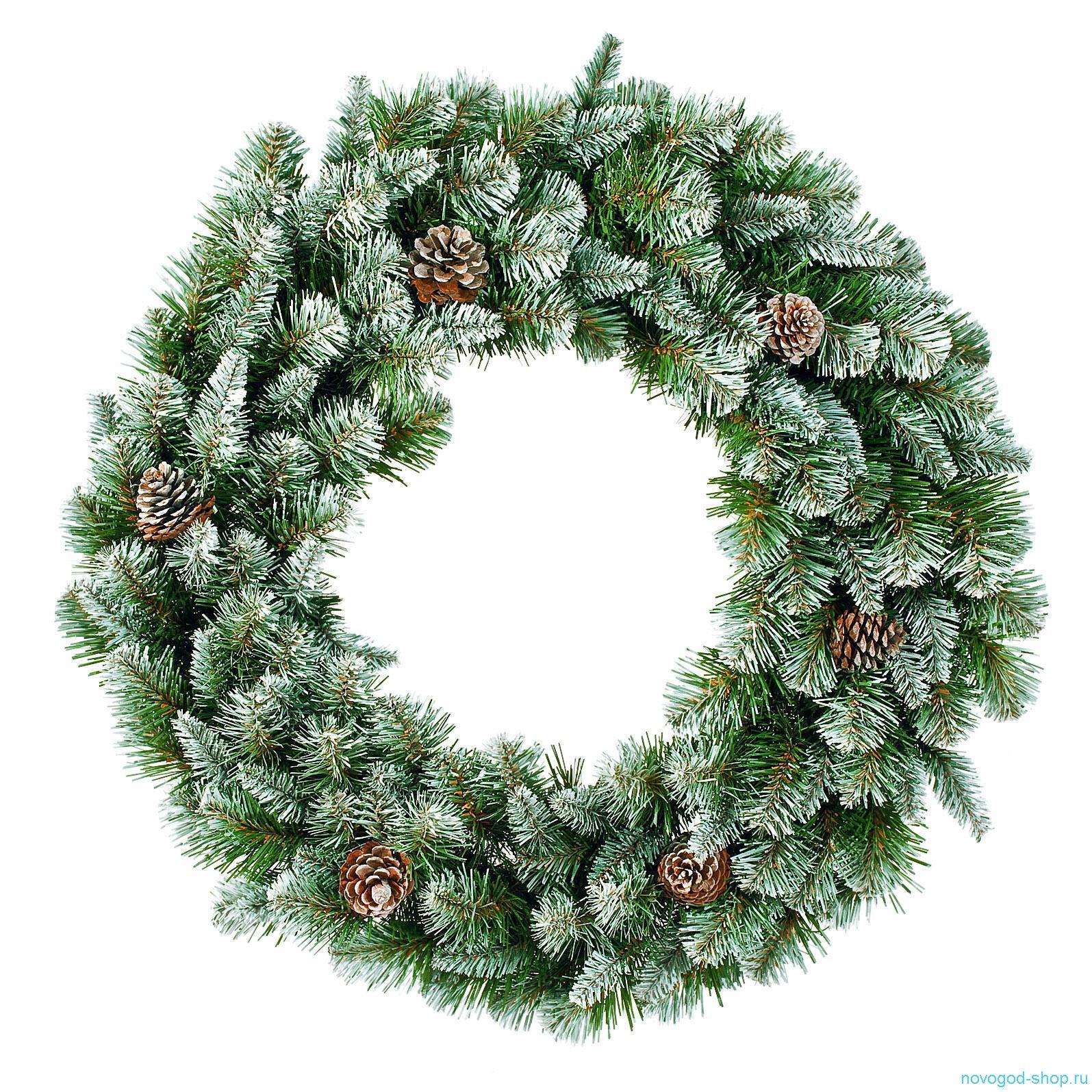 Как сделать новогодний венок из елки своими
